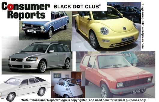 """Consumer Reports"" Black-Dot Club"