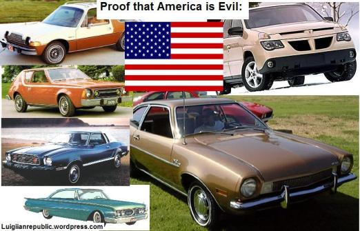 Proof that America is evil.