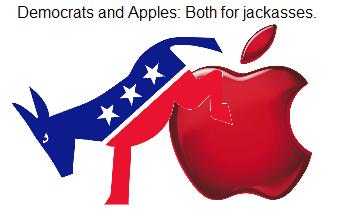 Democratic Apple Humper