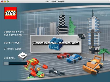 review update lego digital designer 2 1. Black Bedroom Furniture Sets. Home Design Ideas