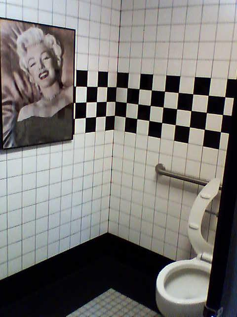Route 66 Diner Bathroom