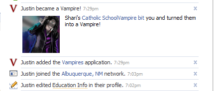 Justin the Vampire