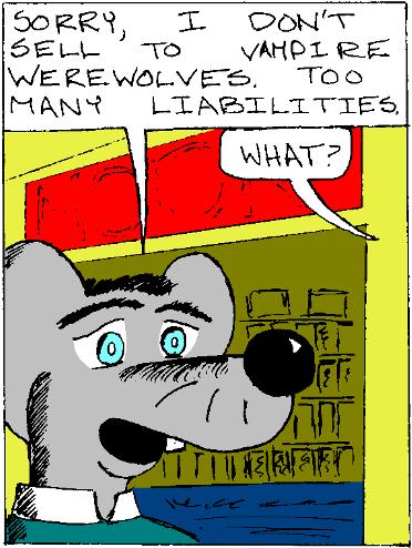 Lupe the Vampire-Werewolf