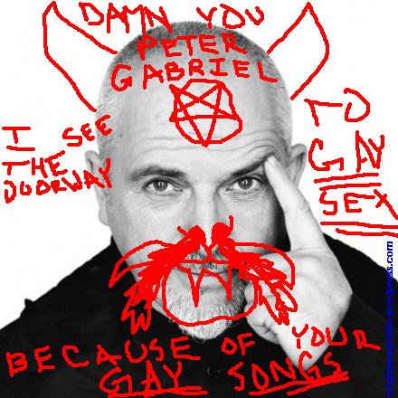 Damn You PeterGabriel